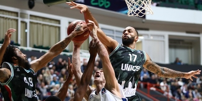 7DAYS EuroCup, Top 16 Round 1: UNICS Kazan vs. Zenit St Petersburg