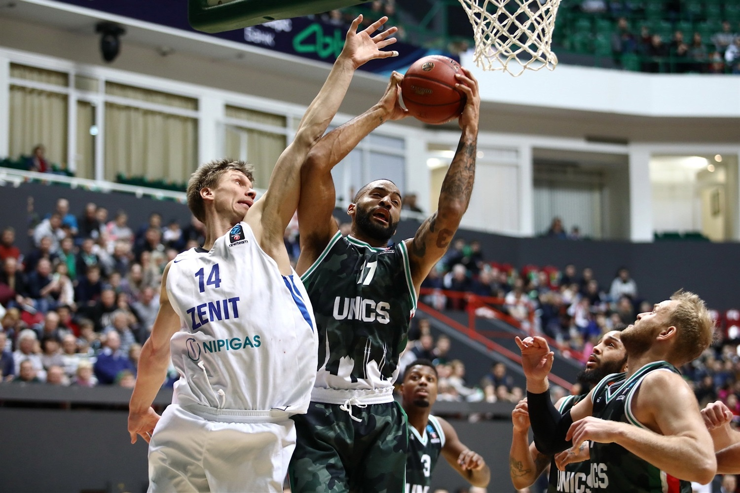 Jackie Carmichael - UNICS Kazan (photo UNICS) - EC18
