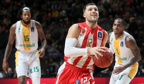 Top 16 Round 1: Zvezda powers past Limoges