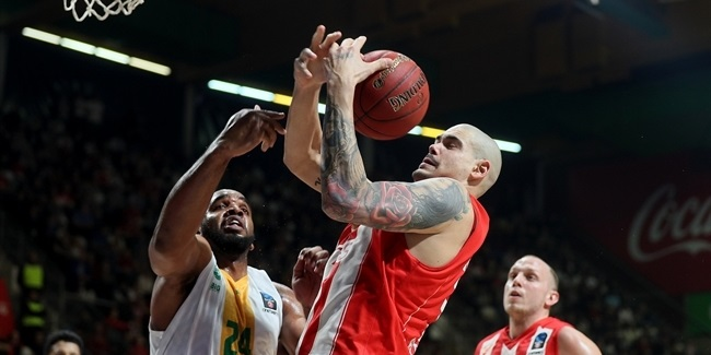 7DAYS EuroCup, Top 16 Round 1: Crvena Zvezda mts Belgrade vs. Limoges CSP