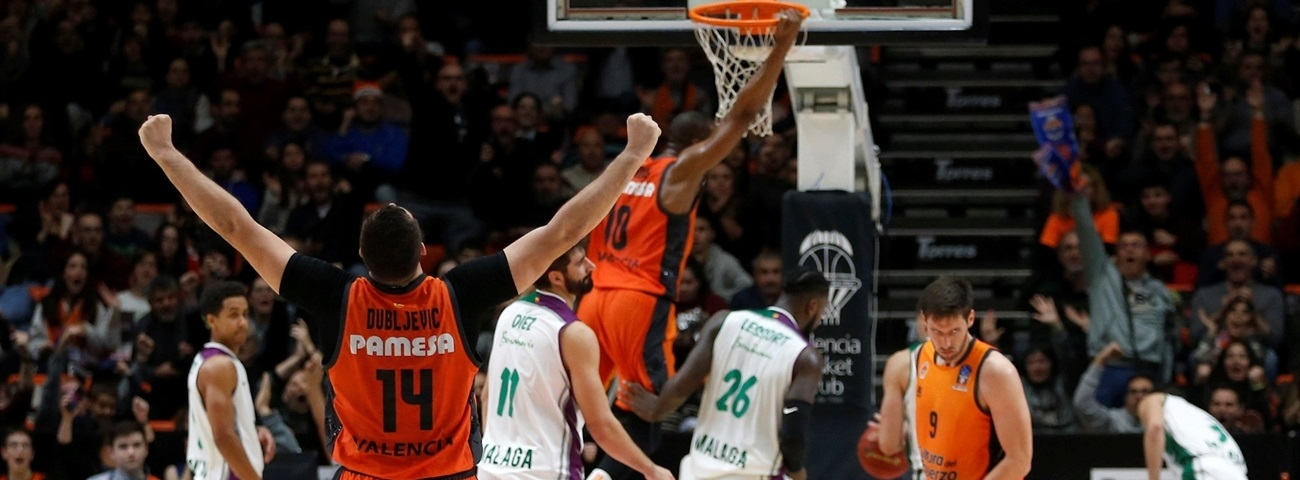 Valencia learned how to quash Unicaja's comeback