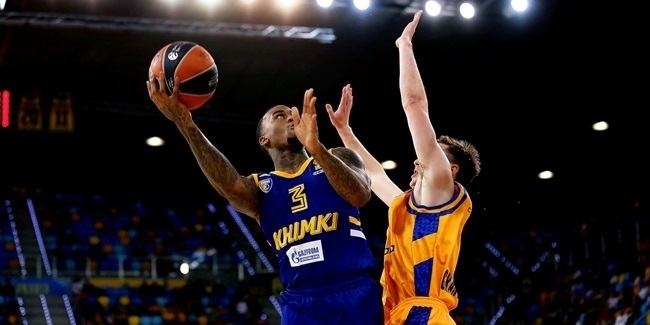 RS Round 16: Herbalife Gran Canaria vs. Khimki Moscow Region