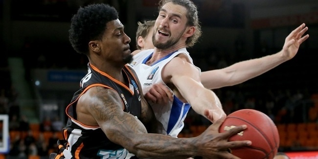 7DAYS EuroCup, Top 16 Round 1: ratiopharm Ulm vs. Fraport Skyliners Frankfurt