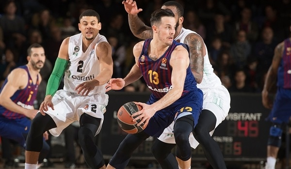 RS Round 16 report: Barcelona thrashes Darussafaka in team victory