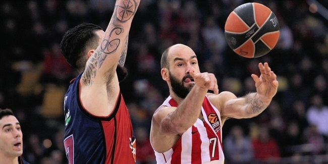 Spanoulis out this week for Olympiacos