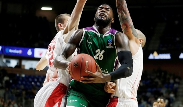 Top 16 Round 2: Unicaja survives Zvezda comeback for first Top 16 win