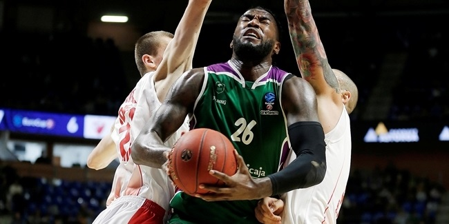 Starting Lessort and Shermadini together worked for Unicaja