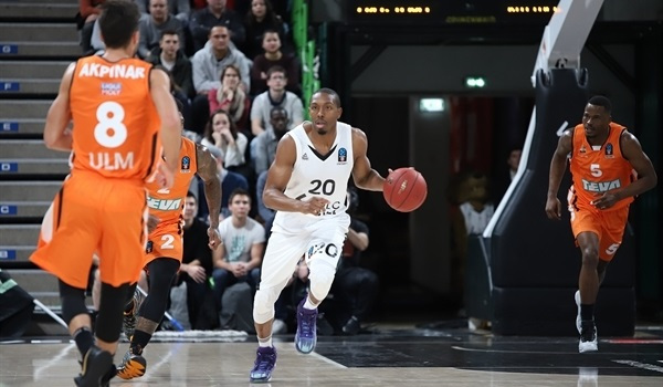 Top 16 Round 2: ASVEL downs Ulm to go top of the group