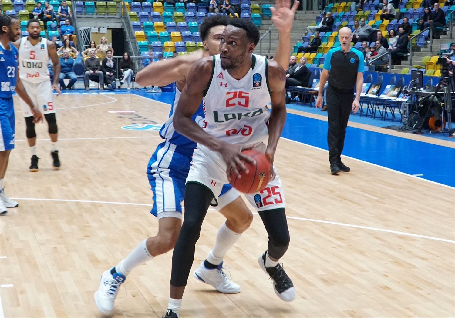 Jajuan Johnson - Lokomotiv Kuban Krasnodar (photo Skyliners) - EC18