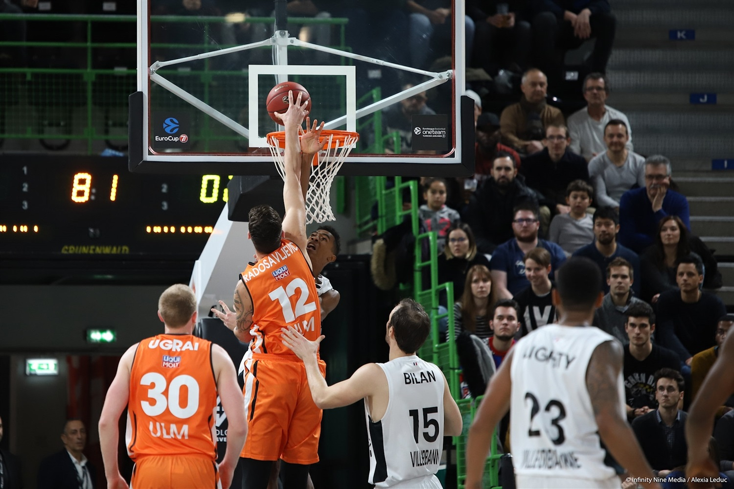 Bogdan Radosavljevic - ratiopharm Ulm (photo Infinity Nine Media - Alexia Leduc) - EC18