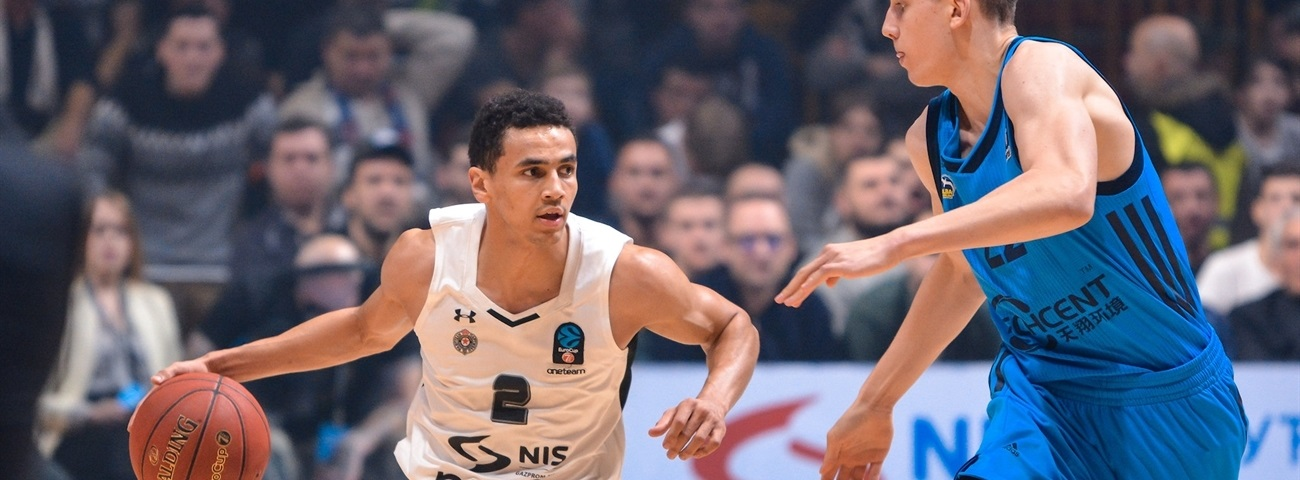 Partizan lifted by superb point guard play