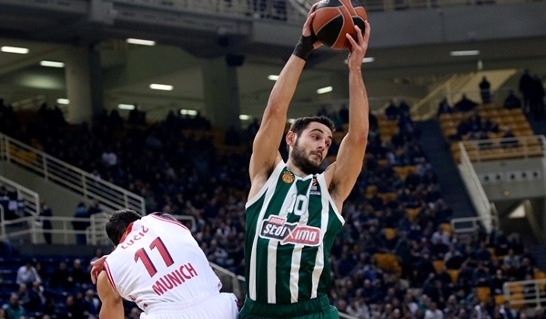 RS Round 17 report: Panathinaikos stops Bayern to seize eighth place