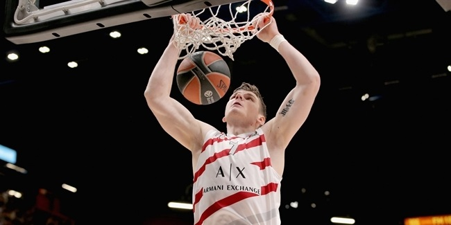 Milan's Gudaitis out long-term with knee injury