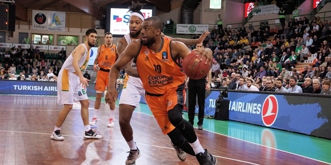 7DAYS EuroCup, Top 16 Round 2: Limoges CSP vs. Valencia Basket