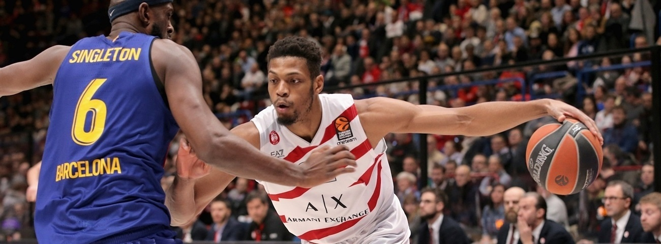 Jeff Brooks, Milan: 'This is the EuroLeague'