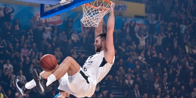 7DAYS EuroCup, Top 16 Round 2: Partizan NIS Belgrade vs. ALBA Berlin