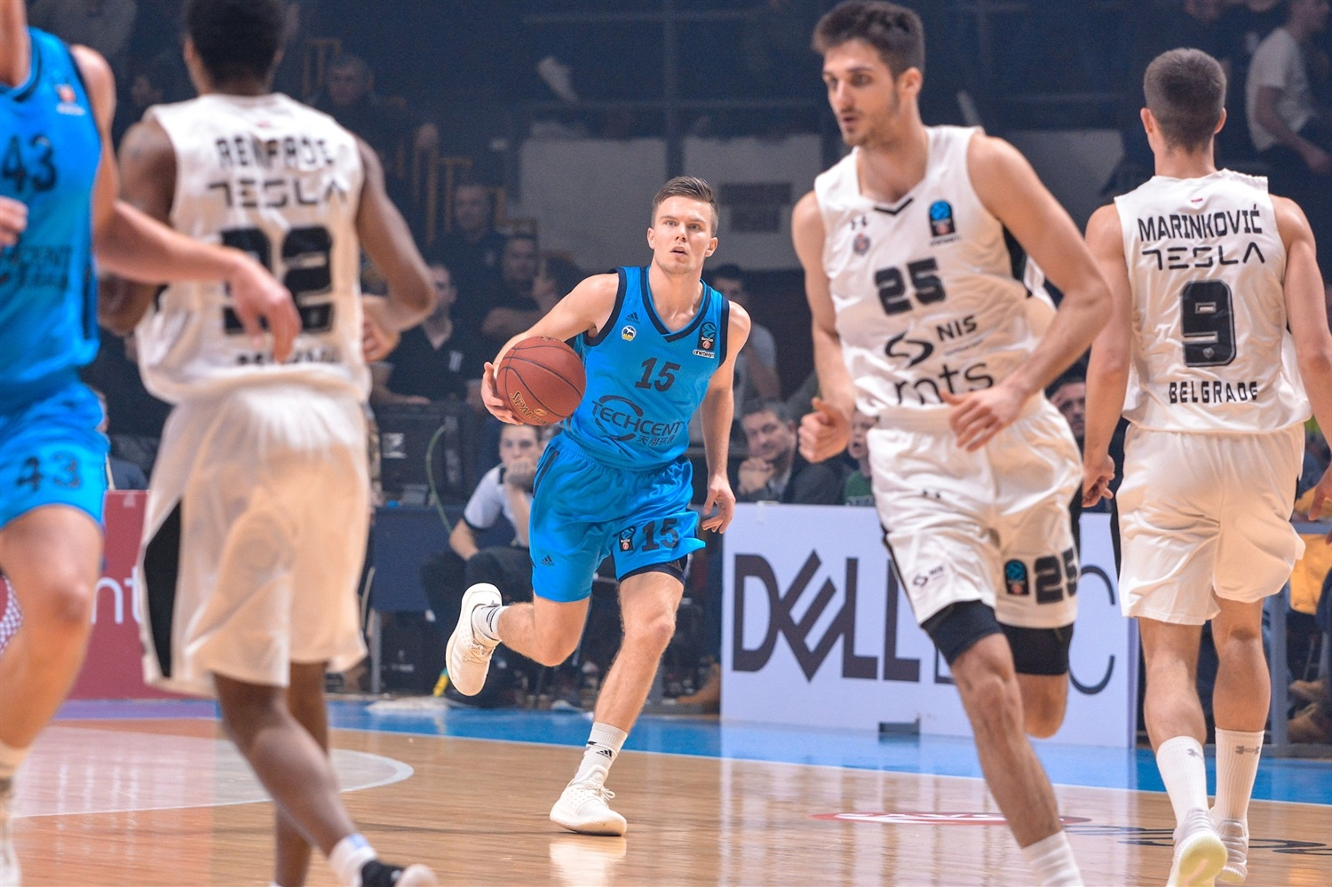Martin Hermannsson - ALBA Berlin (photo Partizan) - EC18