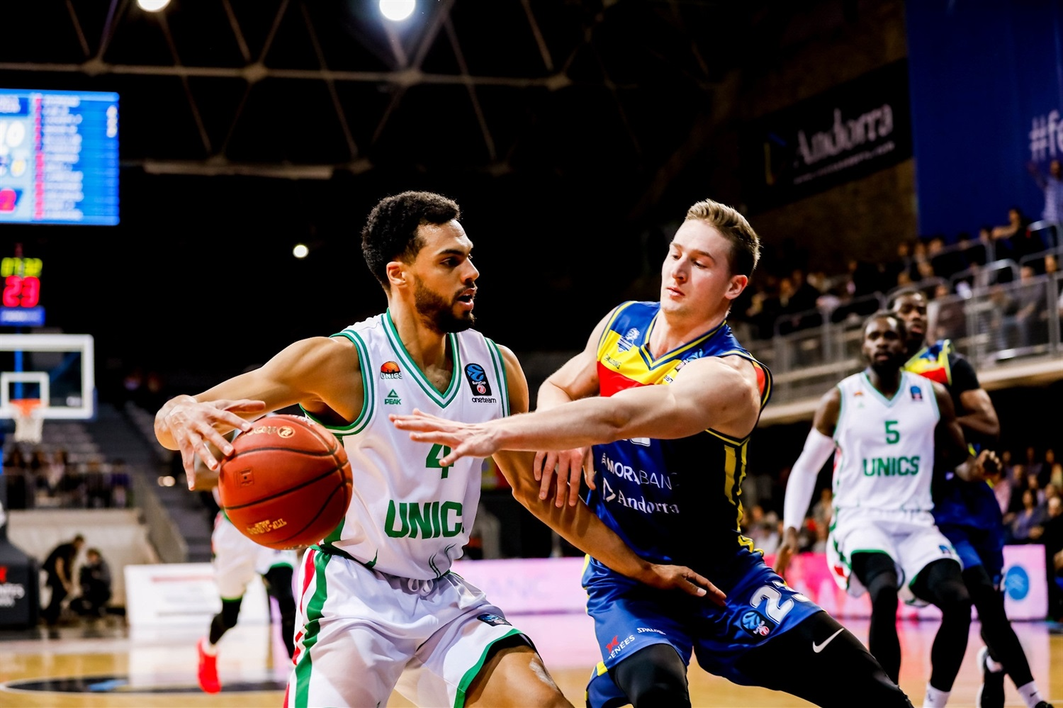 Trent Lockett - UNICS Kazan (photo Marti Imatge - Andorra) - EC18