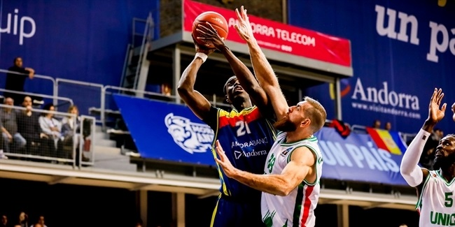 7DAYS EuroCup, Top 16 Round 2: MoraBanc Andorra vs. UNICS Kazan