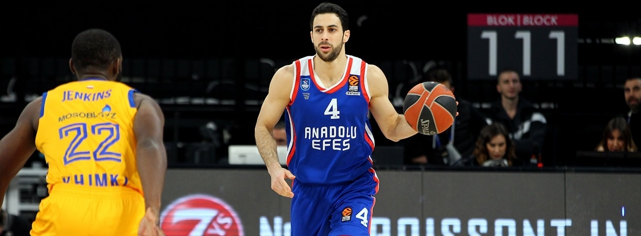 Dogus Balbay, Efes: 'We should never be satisfied'
