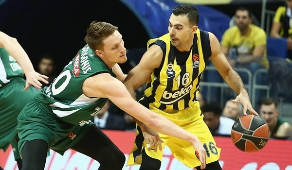 RS Round 18 report: Fenerbahce overwhelms Zalgiris
