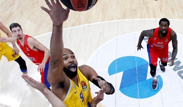 RS Round 18 report: Maccabi stuns CSKA in Moscow for first time since 2004