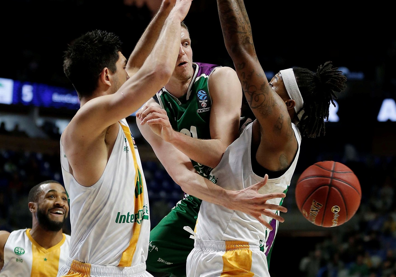 Adam Waczynski - Unicaja Malaga (photo Unicaja) - EC18