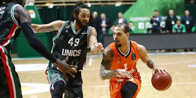 7DAYS EuroCup, Top 16 Round 3: UNICS Kazan vs. Cedevita Zagreb
