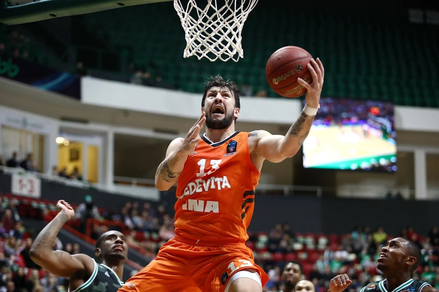 Andrija Stipanovic - Cedevita Zagreb (photo UNICS) - EC18