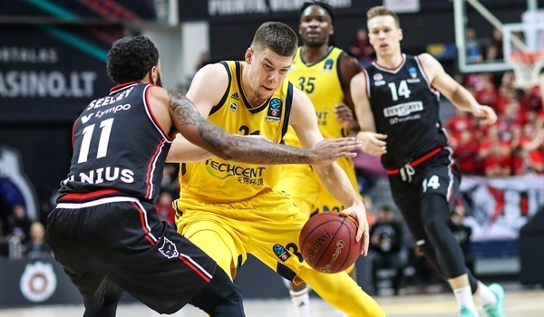 Top 16 Round 3: ALBA takes OT road win in Vilnius