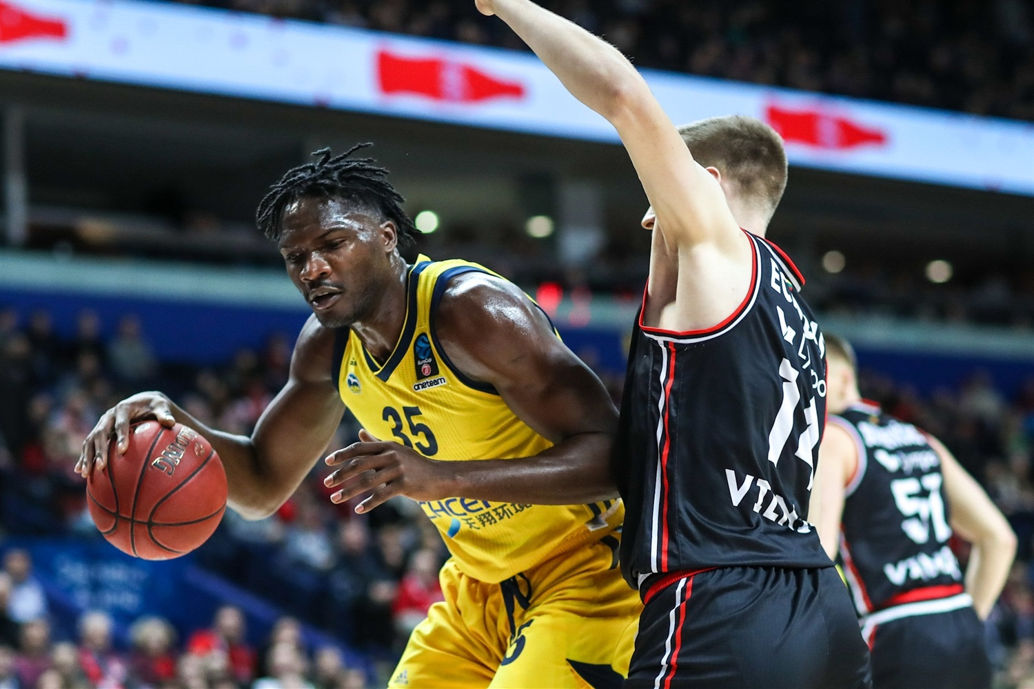 Landry Nnoko - ALBA Berlin (photo Rytas) - EC18