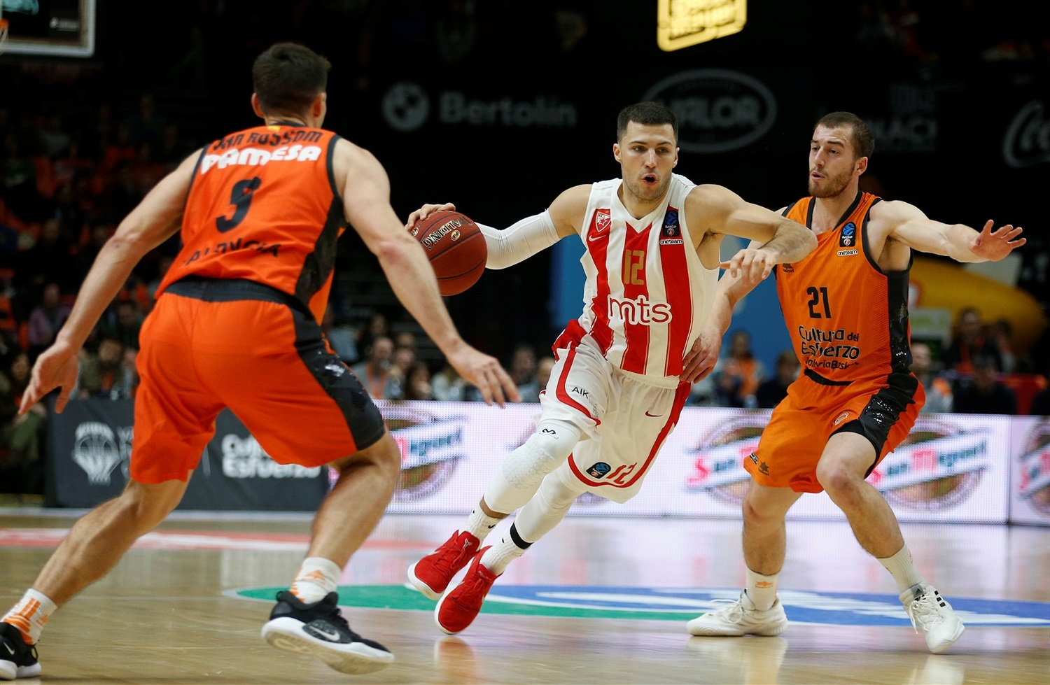 Billy Baron - Crvena Zvezda mts Belgrade (photo Miguel Angel Polo - Valencia) - EC18