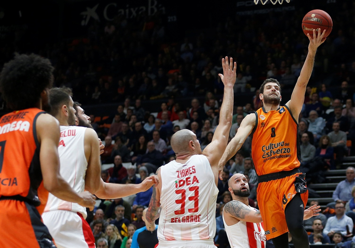 Antoine Diot - Valencia Basket (photo Miguel Angel Polo - Valencia) - EC18