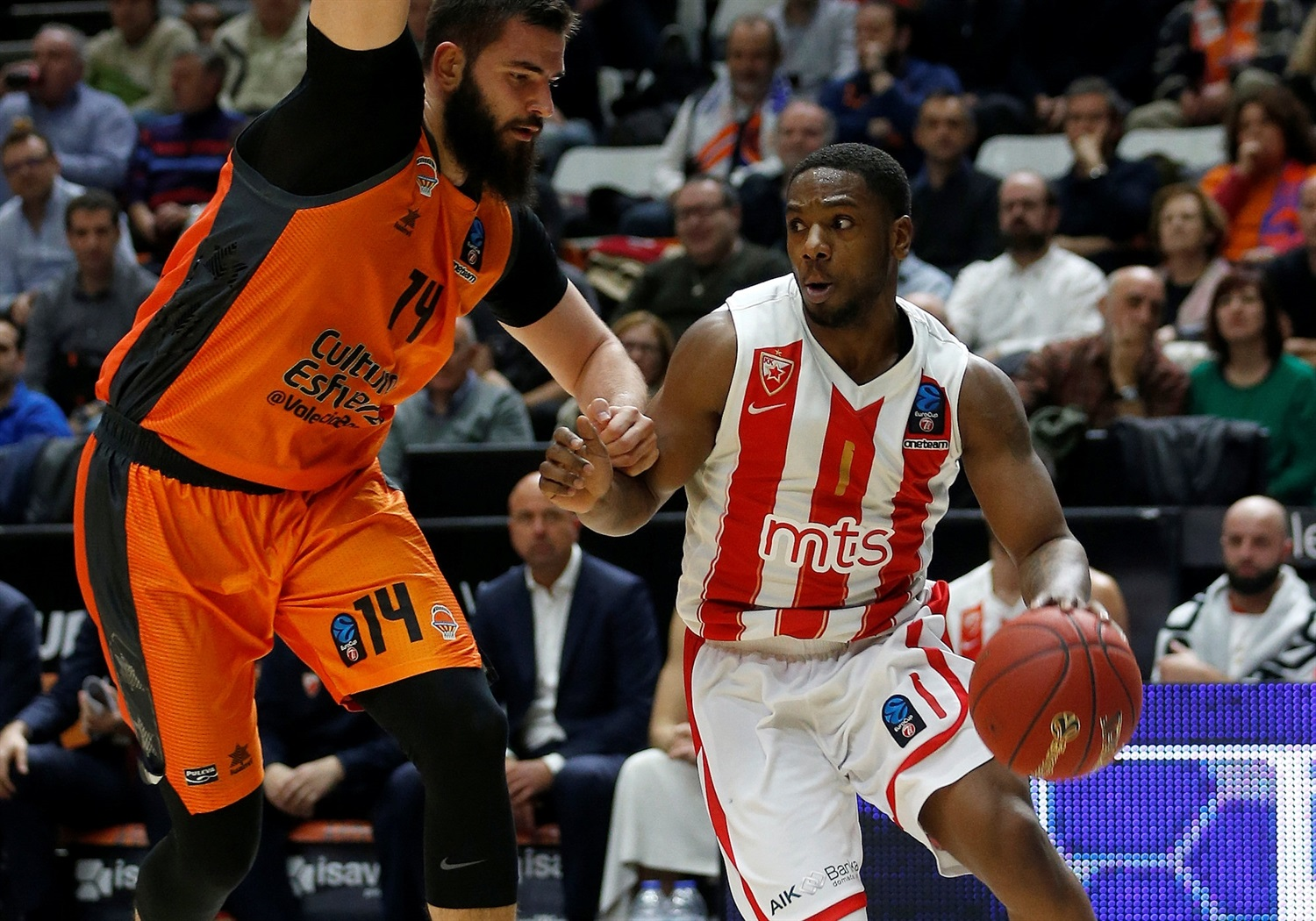 Joe Ragland - Crvena Zvezda mts Belgrade (photo Miguel Angel Polo - Valencia) - EC18