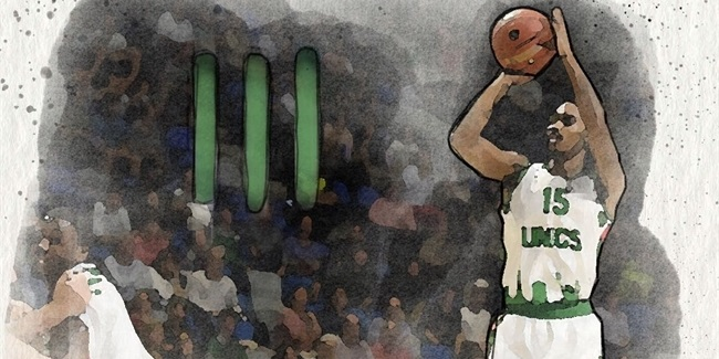 UNICS's Smith marks 50 straight games with a three
