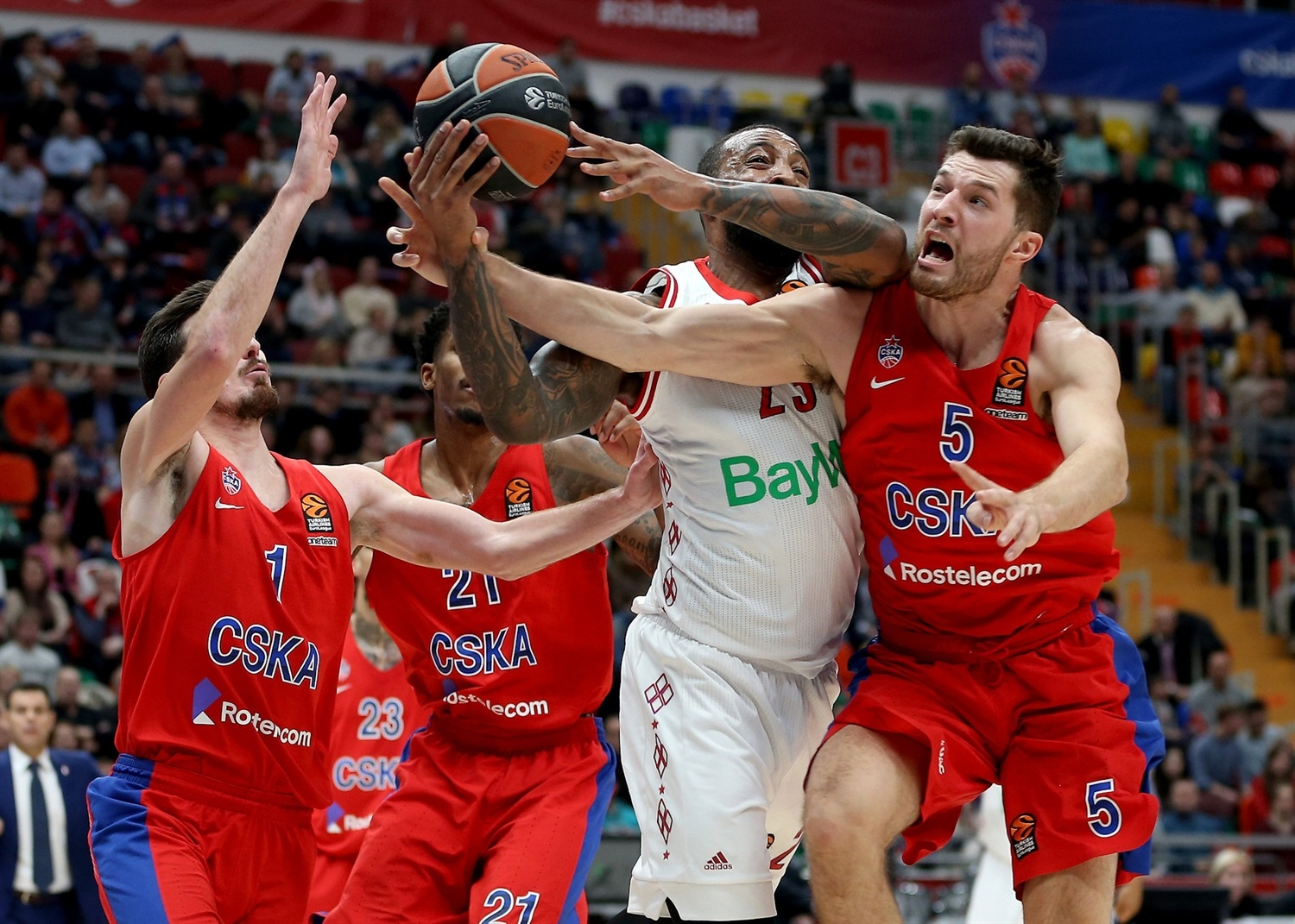 Derrick Williams - CSKA Moscow - EB18