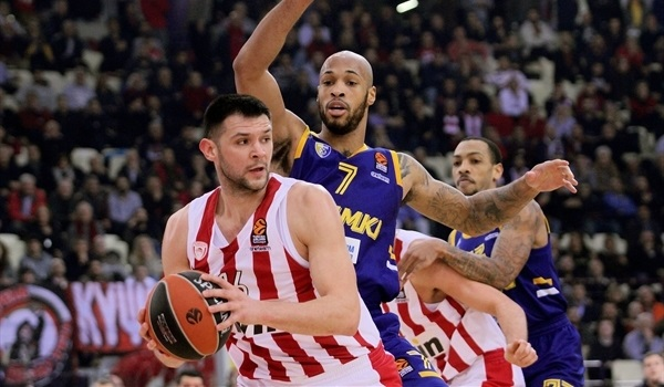 RS Round 18 report: Defense lifts Olympiacos over Khimki