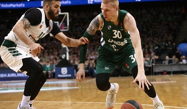 RS Round 19 report: Zalgiris rallies to sweep Panathinaikos