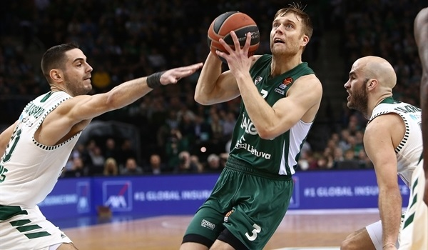 Offense, character keyed Zalgiris turnaround