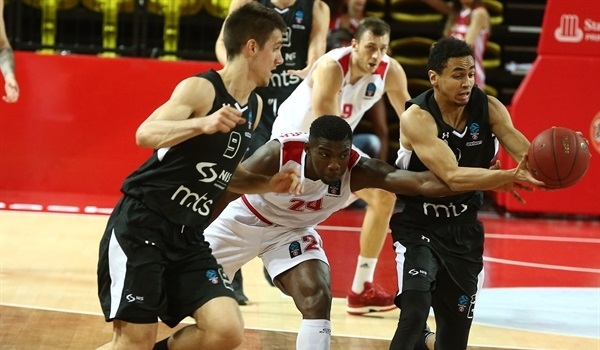 Top 16 Round 4: Partizan pulls out win in Monaco