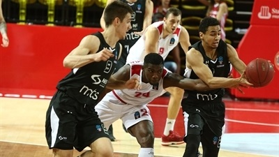 Partizan pulls out win in Monaco