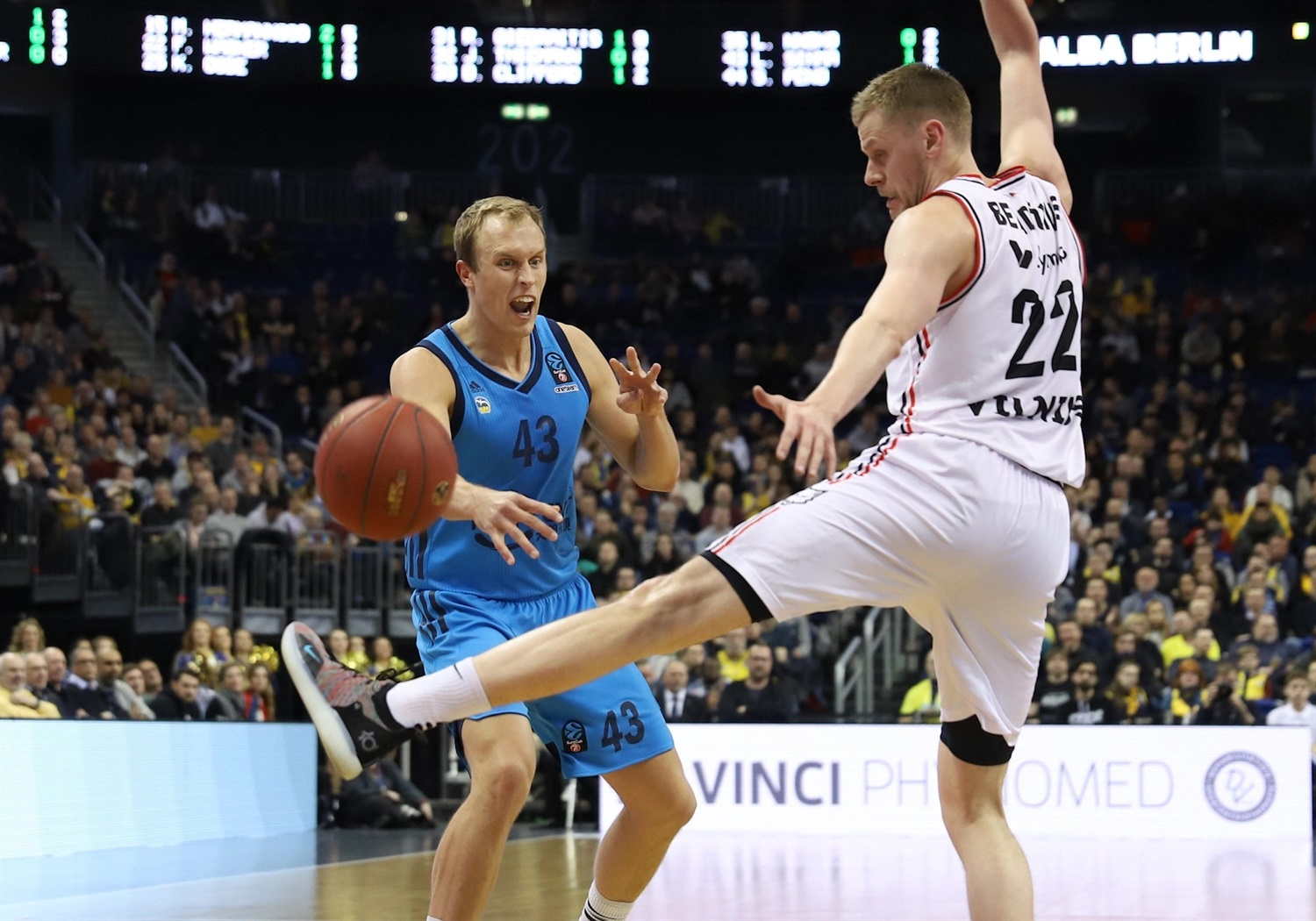 Luke Sikma - ALBA Berlin (photo Andreas Knopf - ALBA) - EC18