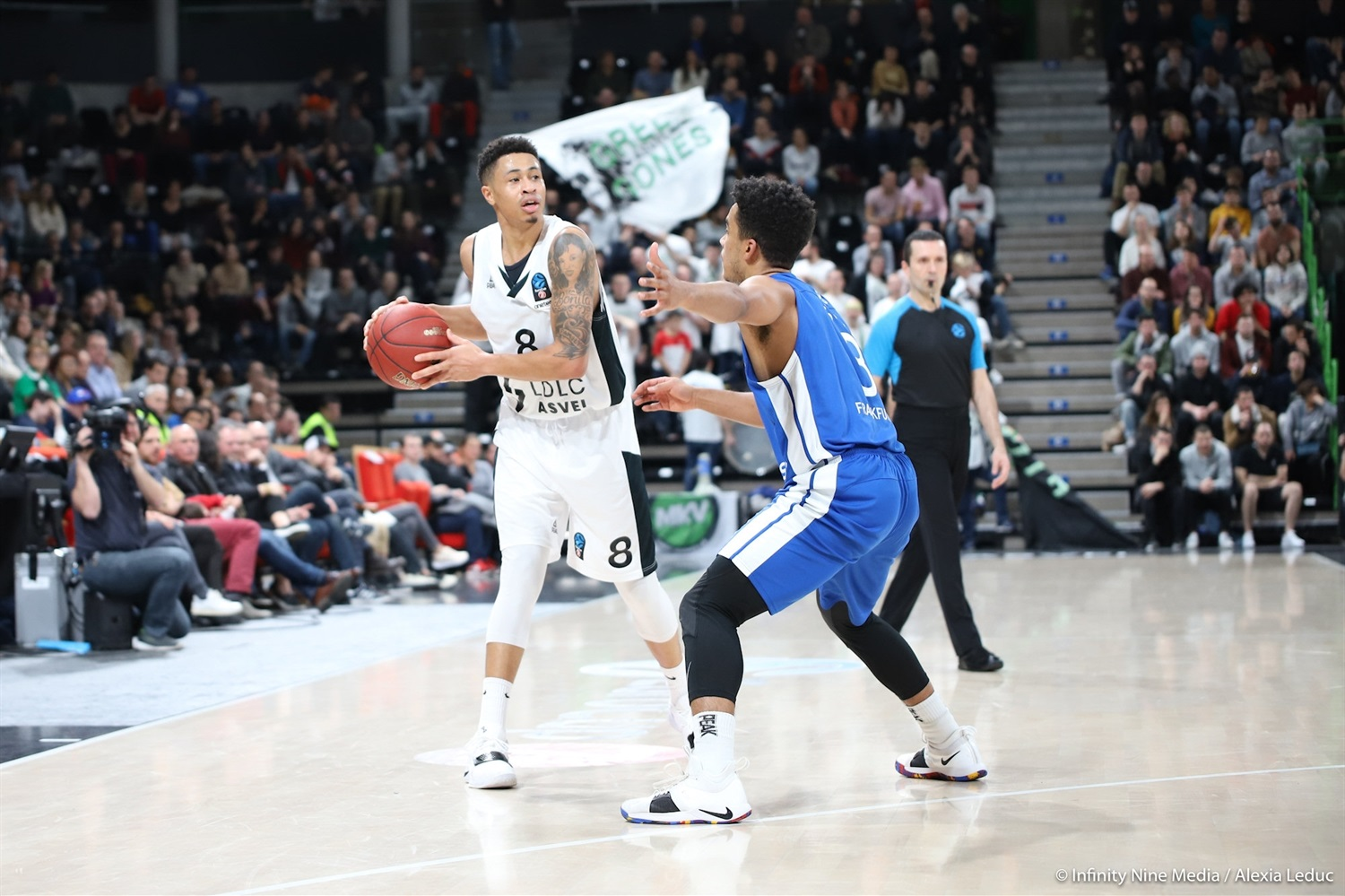 AJ Slaughter - LDLC ASVEL Villeurbanne (photo Infinity Nine Media - Alexia Leduc) - EC18