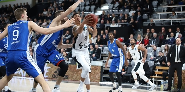 7DAYS EuroCup, Top 16 Round 4: LDLC ASVEL Villeurbanne vs. Fraport Skyliners Frankfurt
