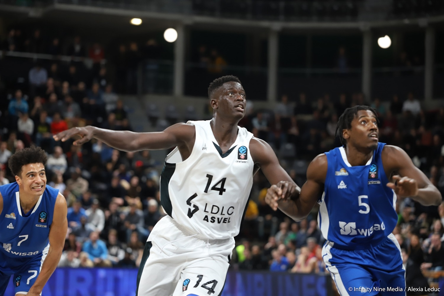 Khadim Sow - LDLC ASVEL Villeurbanne (photo Infinity Nine Media - Alexia Leduc) - EC18