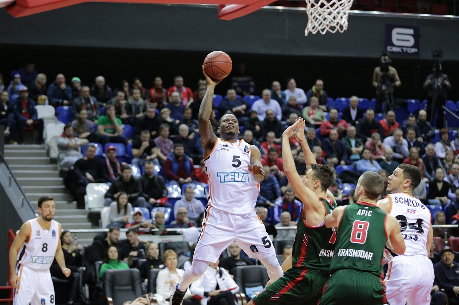 Javonte Green - ratiopharm Ulm  (photo Lokomotiv) - EC18