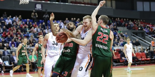 7DAYS EuroCup, Top 16 Round 4: Lokomotiv Kuban Krasnodar vs. ratiopharm Ulm