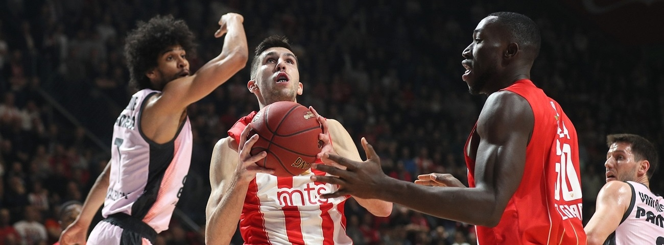 Zvezda extends athletic forward Dobric