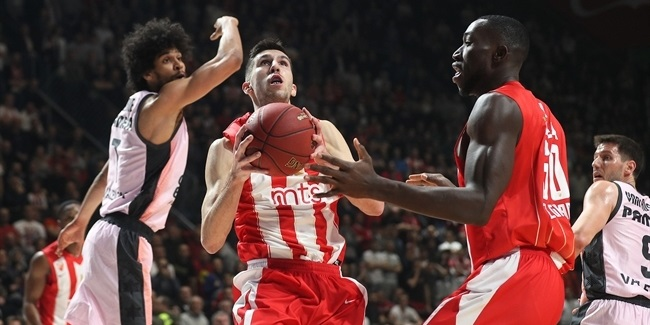 7DAYS EuroCup, Top 16 Round 4: Crvena Zvezda mts Belgrade vs. Valencia Basket