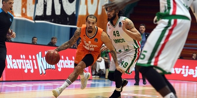 7DAYS EuroCup, Top 16 Round 4: Cedevita Zagreb vs. UNICS Kazan